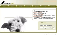 RescuePet Homepage